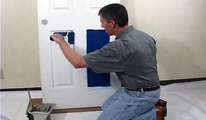 Лак краска для дверей