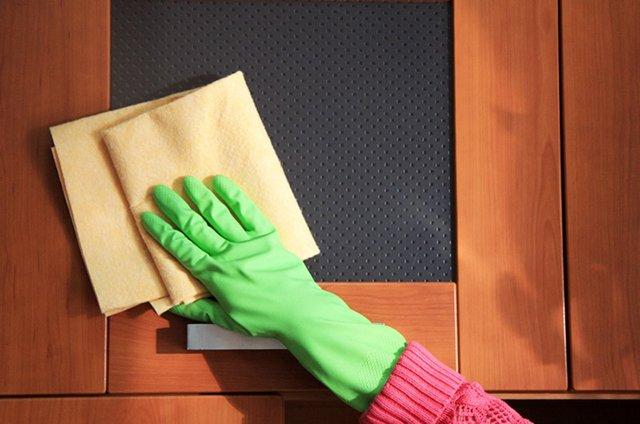Как отмыть матовое стекло от жирных пятен, чтобы не осталось разводов?