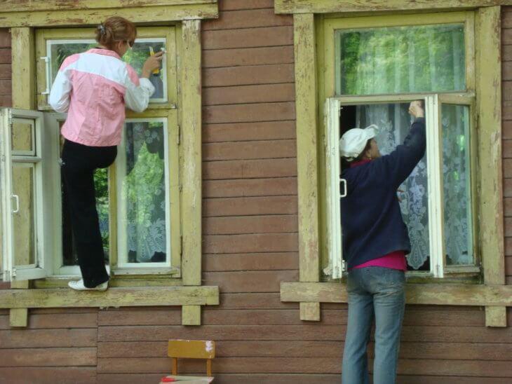 Как самому сделать раму для окна