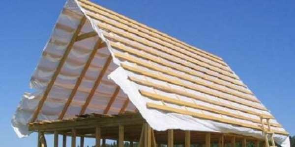 Как сделать треугольную крышу