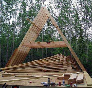 Стропильная система двухскатной крыши своими руками пошагово -