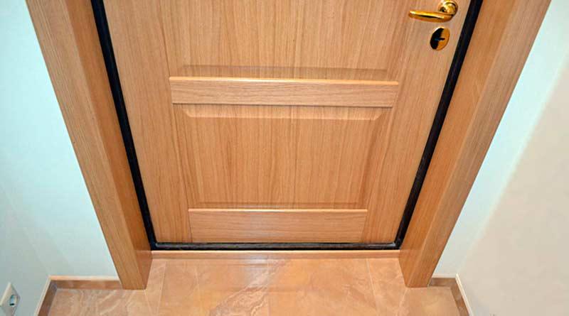 Как самому сделать откосы на входной двери
