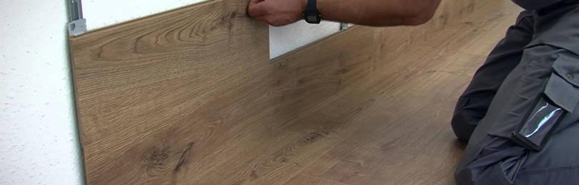 Ламинат на стену способы крепления и пошаговые инструкции