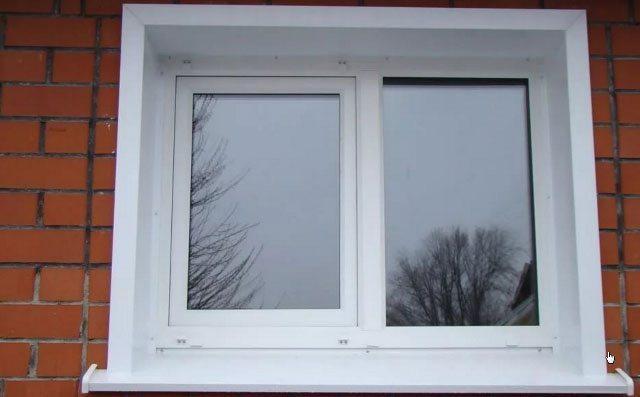 Наличники на окна из металла своими руками