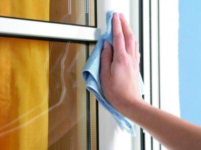 Как мыть окна нашатырным спиртом