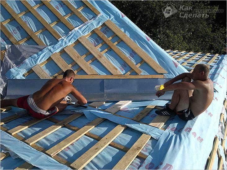 Многощипцовая крыша стропильная система