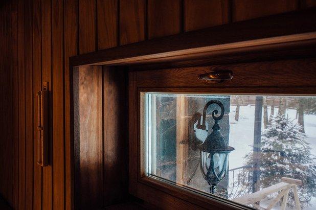 Пластиковое окно в парилку можно ли
