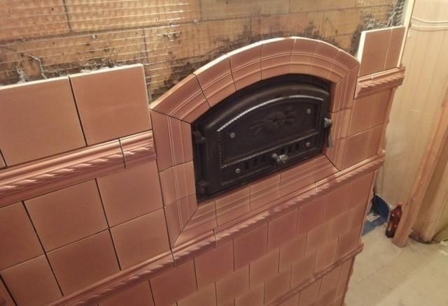 Жаропрочная плитка для бани - Всё о бане
