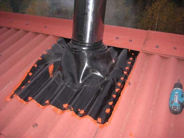 Изоляция дымохода бани: каким материалом изолировать металлическую трубу дымохода