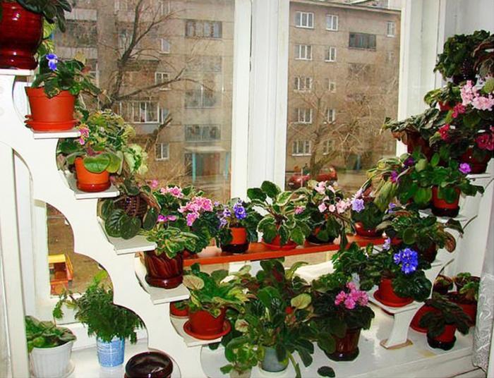 Полки для цветов на балконе своими руками - Клуб Мастеров