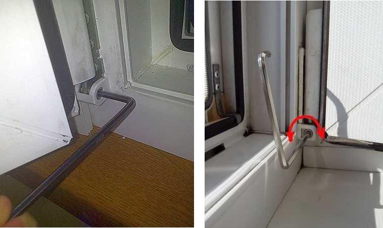Как настраивать пластиковые окна