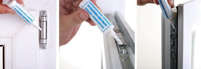 Регулировка прижима створки пластикового окна -