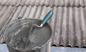 Ремонт шифера чем заделать трещину на крыше своими руками 8 способов