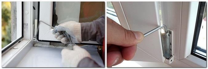 Как повернуть цапфу на пластиковом окне