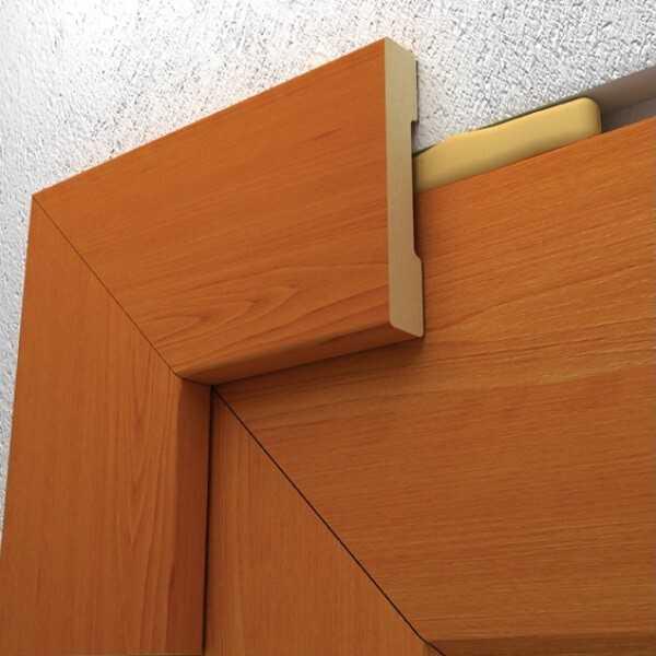 Какие бывают наличники для межкомнатных дверей