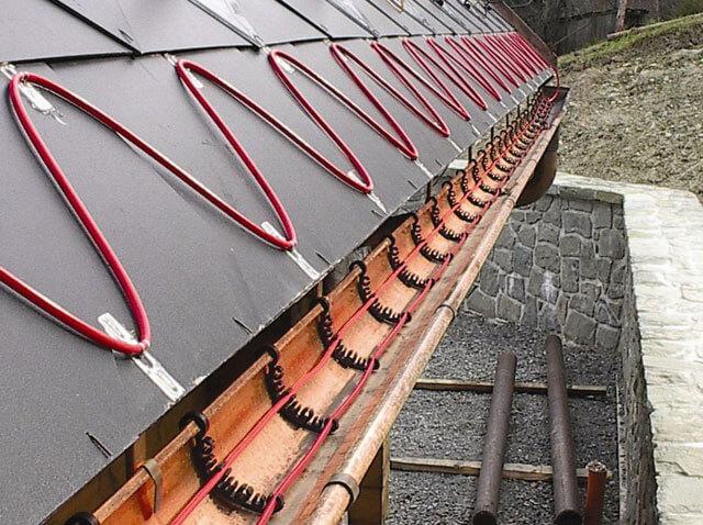 Как можно сделать слив с крыши