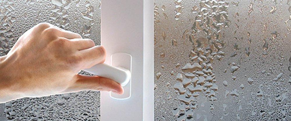 Как убрать конденсат с пластиковых окон
