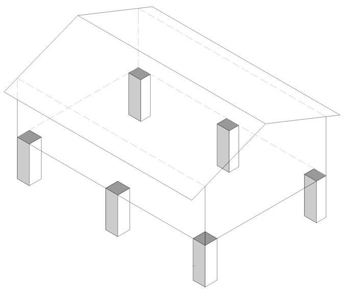 Как сделать опалубку для столбчатого фундамента