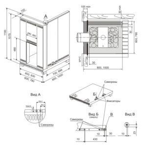 Изоляция стен от печи: применение защитных экранов и обшивки