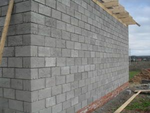 Толщина из стен керамзитобетона изготовления бетонной смеси