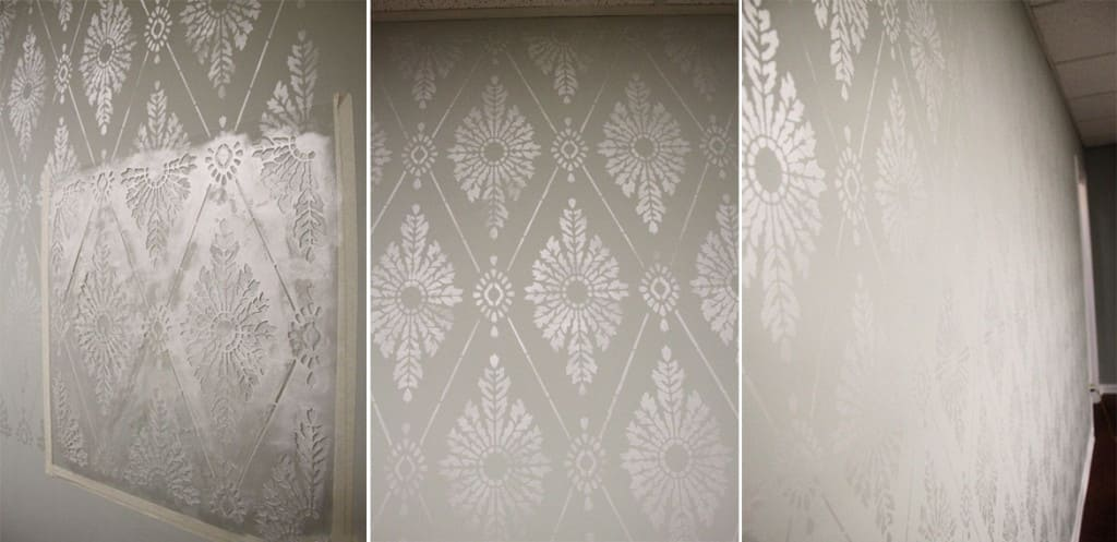 Как сделать трафарет для стен под покраску