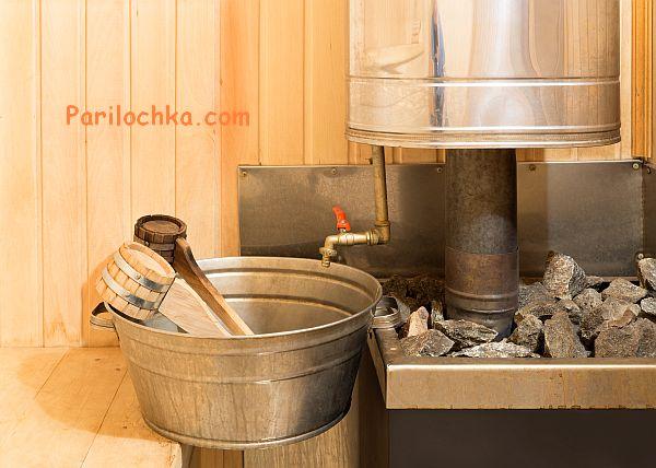 Расстояние от печи до стены в бане — Отопление