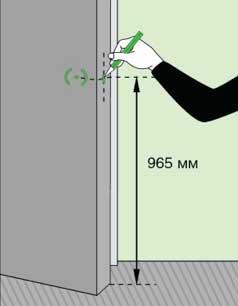 Дверные ручки для межкомнатных дверей установка