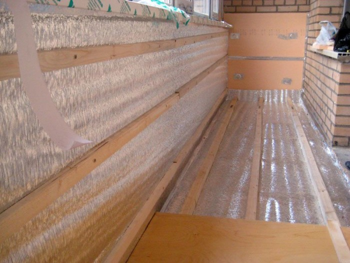 Утепление пола на балконе и лоджии своими руками – материалы и способы