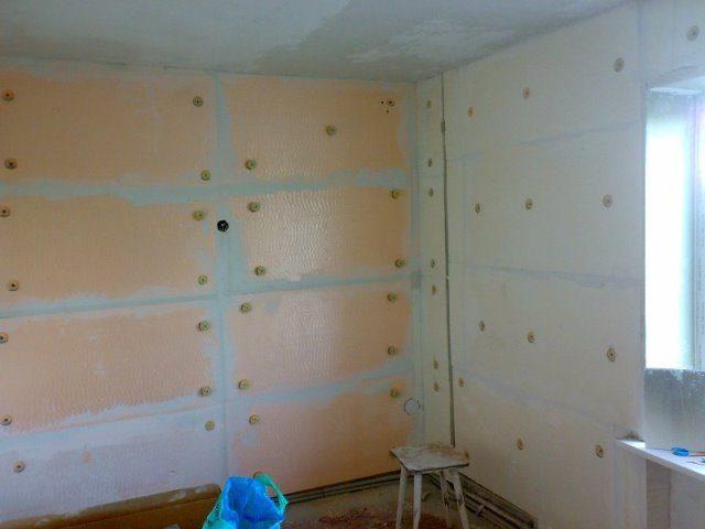 Утеплить стену в квартире пеноплексом