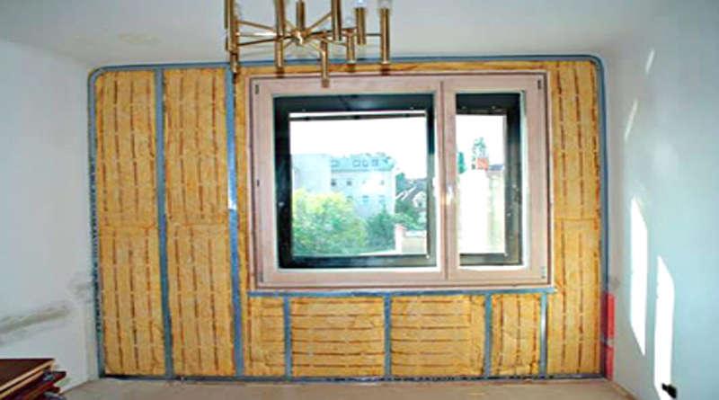 Как утеплить стену внутри квартиры