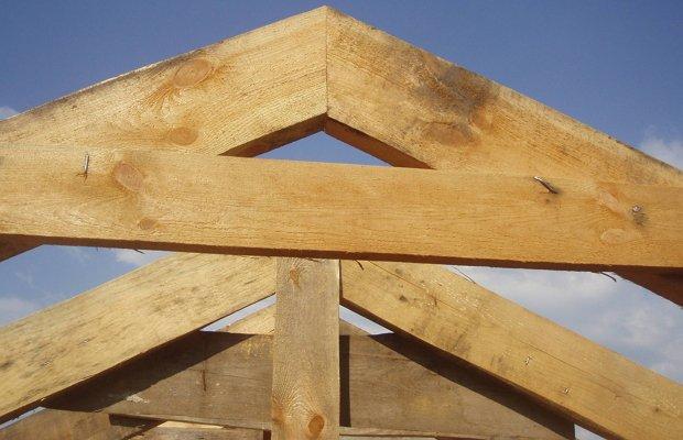 Узлы стропильной системы двухскатной крыши