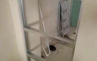 Как зашить дверной проем гипсокартоном