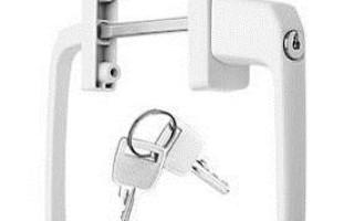 Как врезать замок в металлопластиковую дверь