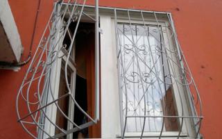 Самодельные решетки на окна