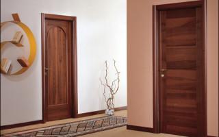 Можно ли красить шпонированные двери