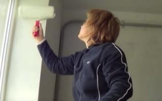 Чем покрасить оконные откосы внутри