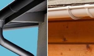 Водостоки для крыши металлические монтаж своими руками