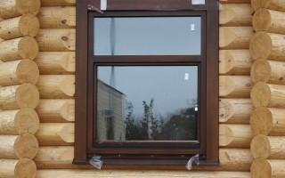 Как установить пластиковые окна в деревянный дом