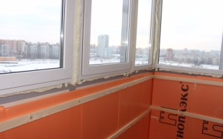 Сколько стоит утеплить балкон под ключ