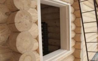 Обсадной брус на окна