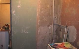 Как выровнять стены на кухне своими руками