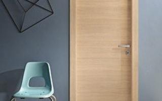 Что значит ламинированные двери