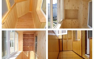 Как отделать балкон вагонкой своими руками