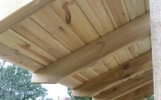 Как правильно подшить карниз крыши