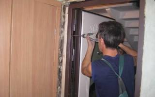 Как правильно собрать дверную коробку из МДФ