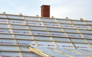Как правильно класть гидроизоляцию на крышу