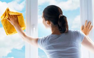 Чем лучше мыть пластиковые окна и подоконники