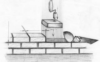 Допуски при кладке стен из блоков