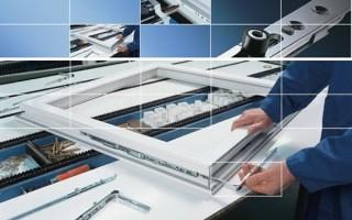 Технология сборки алюминиевых окон