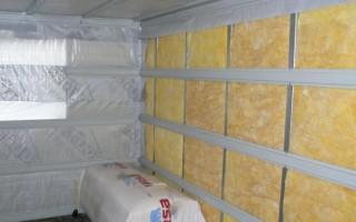 Теплоизоляция стен изнутри материалы